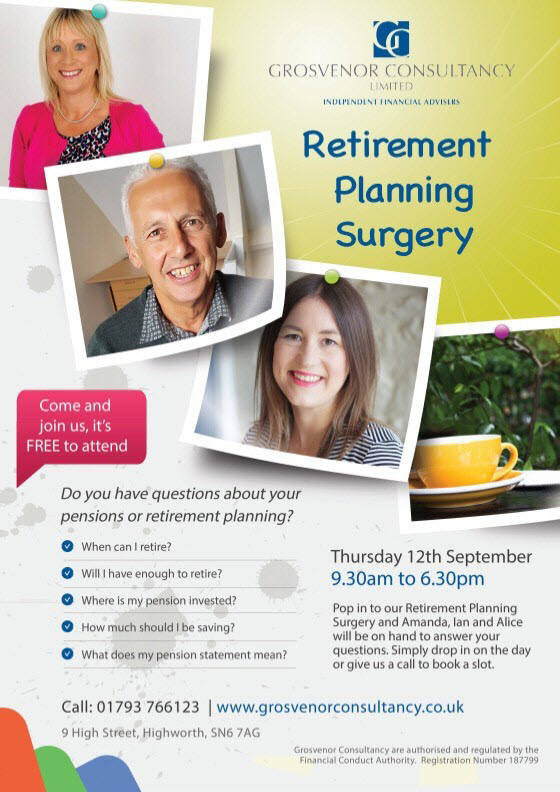 Retirement Planning Surgery Wiltshire Gloucestershire