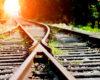 railway tracks merging
